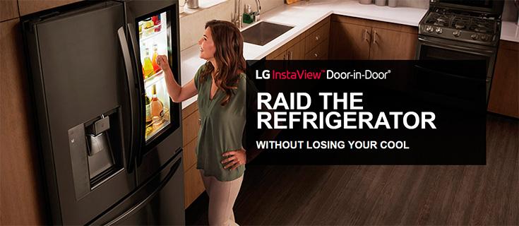 LG InstaView Door In Door Refrigerator