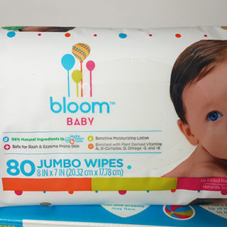 bloom BABY Hypoallergenic Baby Wipes