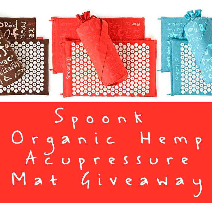 Spoonk Acupressure Hemp Mat Giveaway