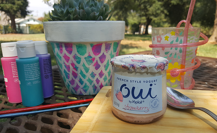 Strawberry Oui By Yoplait #OuibyYoplait
