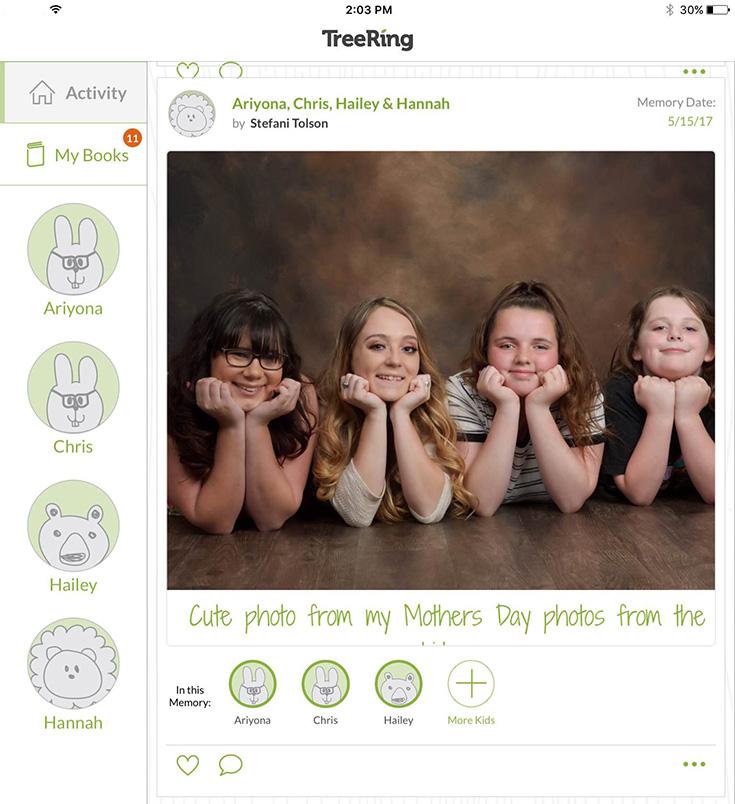 TreeRing Photo App