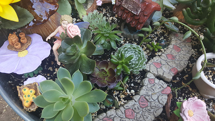 DIY Fairy Garden With Flower Fairies Secret Garden