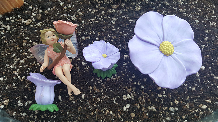 Flower Fairies Secret Garden - Rose Fairy
