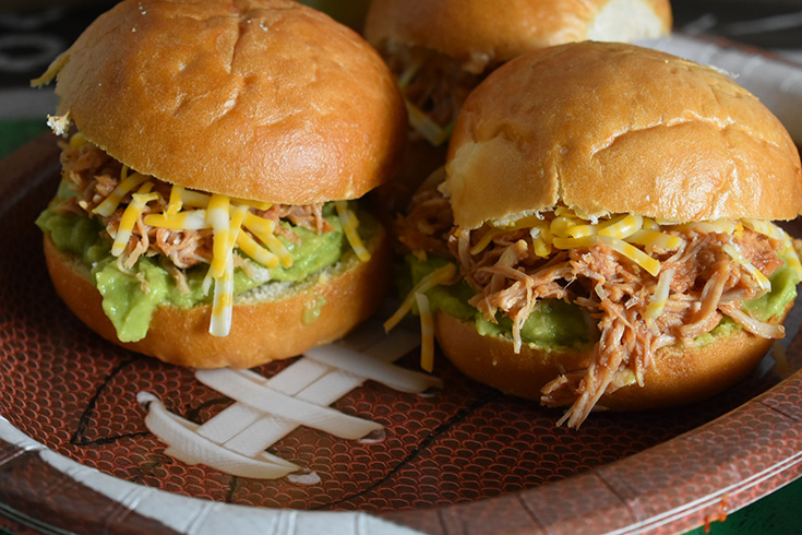 Foster Farms Shredded Chicken Sliders