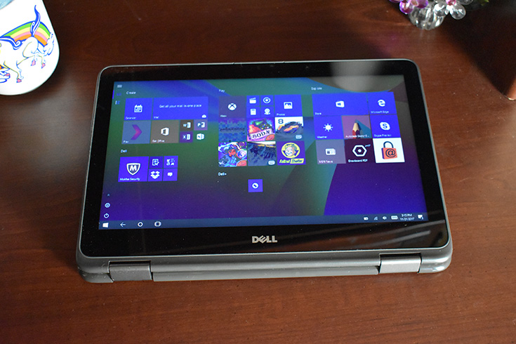 Dell Inspiron 11 2-in-1, Intel® Celeron®