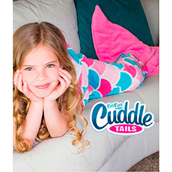 Fin Fun Cuddle Tails Mermaid Blanket