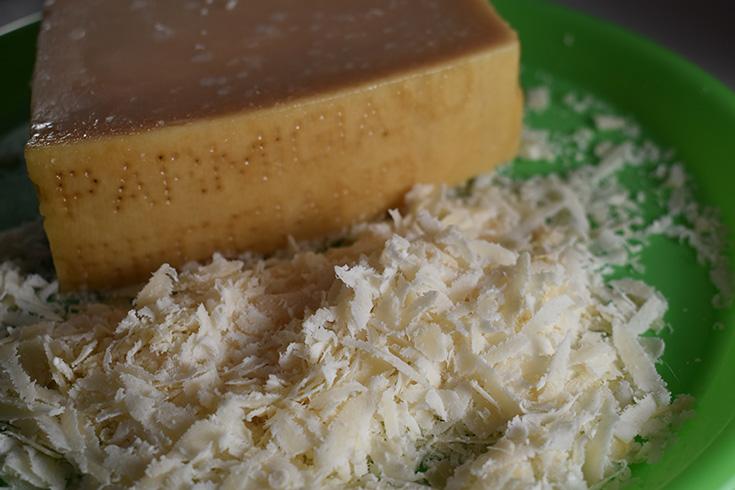 Grated Parmigiano Reggiano Cheese