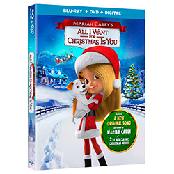 Mariah Carey's All I Want for Christmas Is You Blu-Ray + DVD