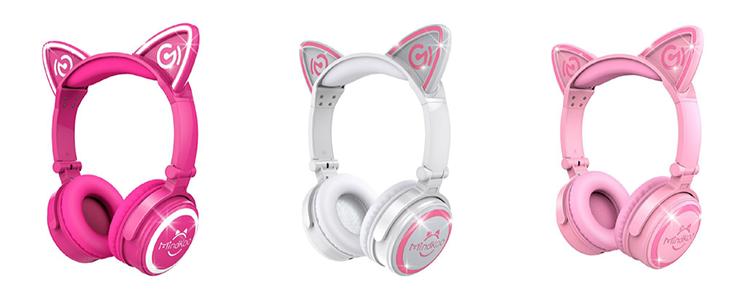 MindKoo Wirelss Cat Headphones