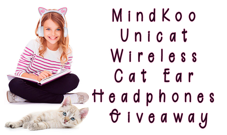 MindKoo Unicat Wireless Cat Ear Headphones Giveaway