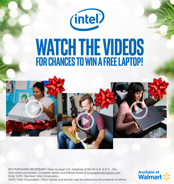 WIN a FREE Laptop