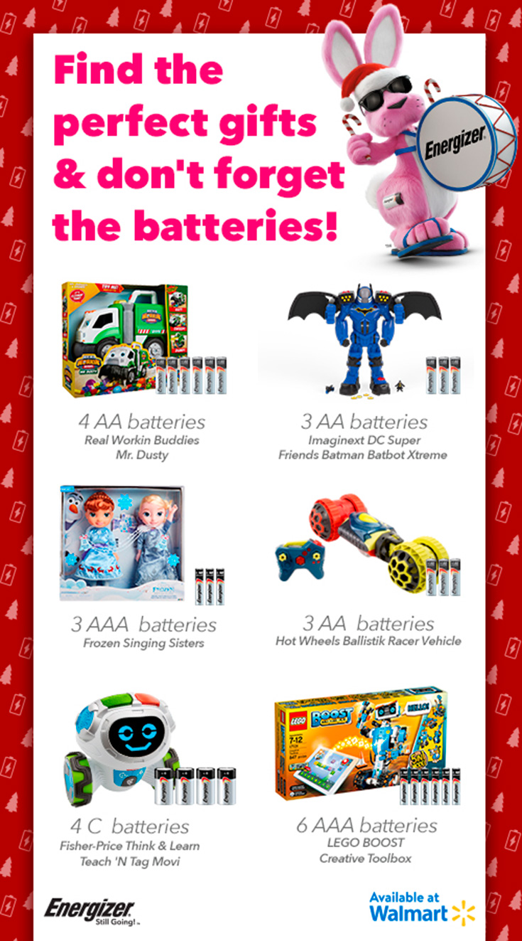 Keep The Holidays Energized This Season With Energizer