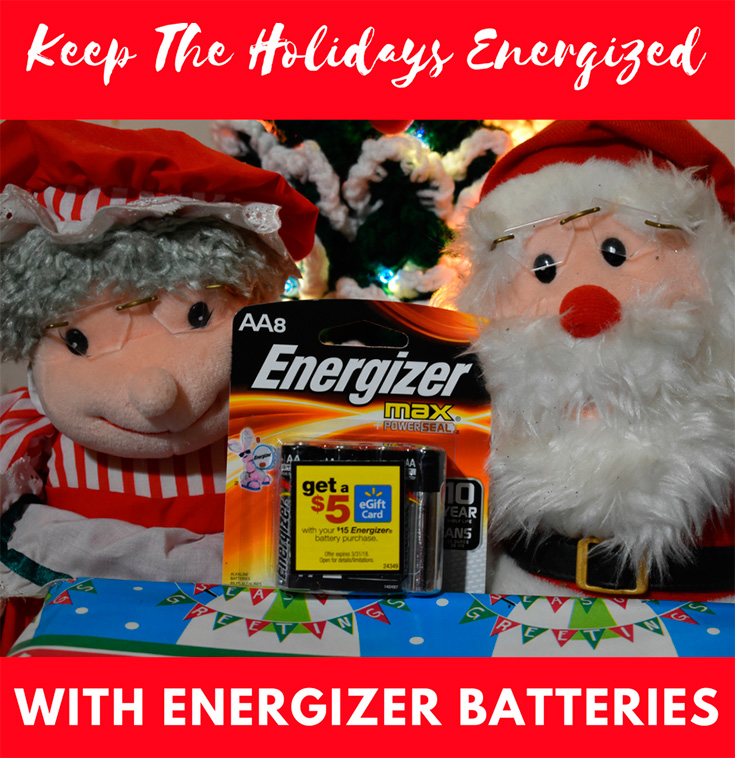 Keep The Holidays Energized This Season With Energizer Batteries