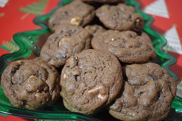 Triple Chocolate Chunk Cookies With Krusteaz