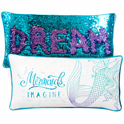 Mermaid Positivity Pillows