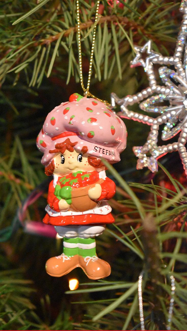 Personalized Strawberry Shortcake Ornament