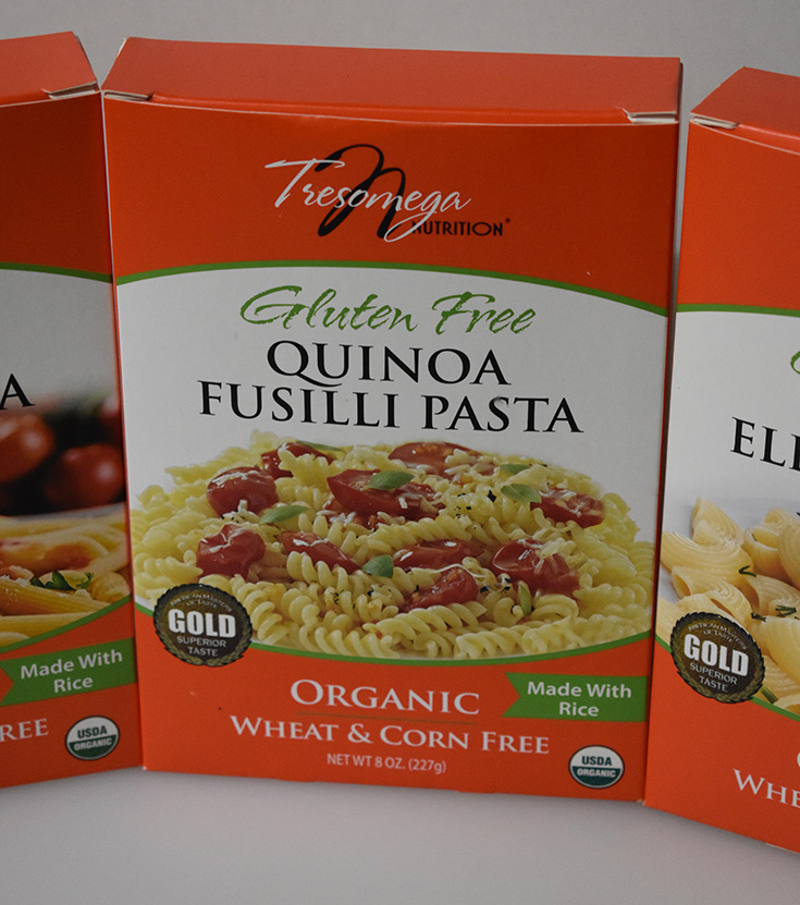 Tresomega Nutrition Quinoa Fusilli Pasta