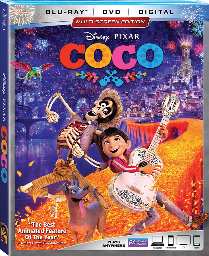 Disney's Coco on Blu-Ray