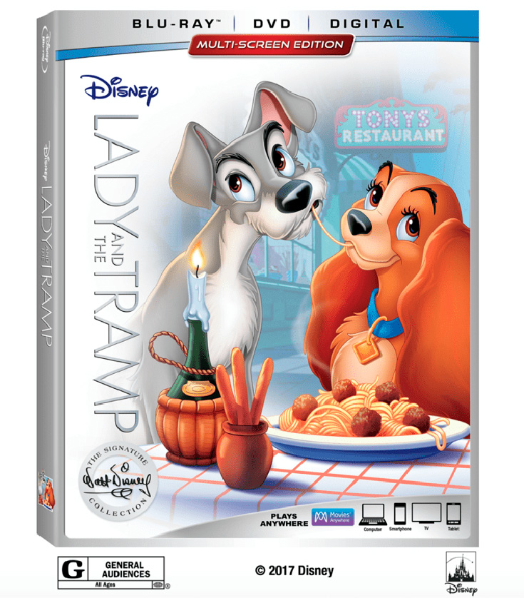Lady and the Tramp Blu-Ray