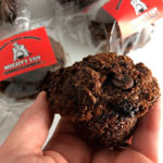 Mighty Kong Cherry Chocolate Bran Muffins
