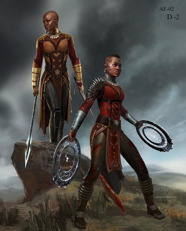 Dora Milaje - Black Panther Costumes