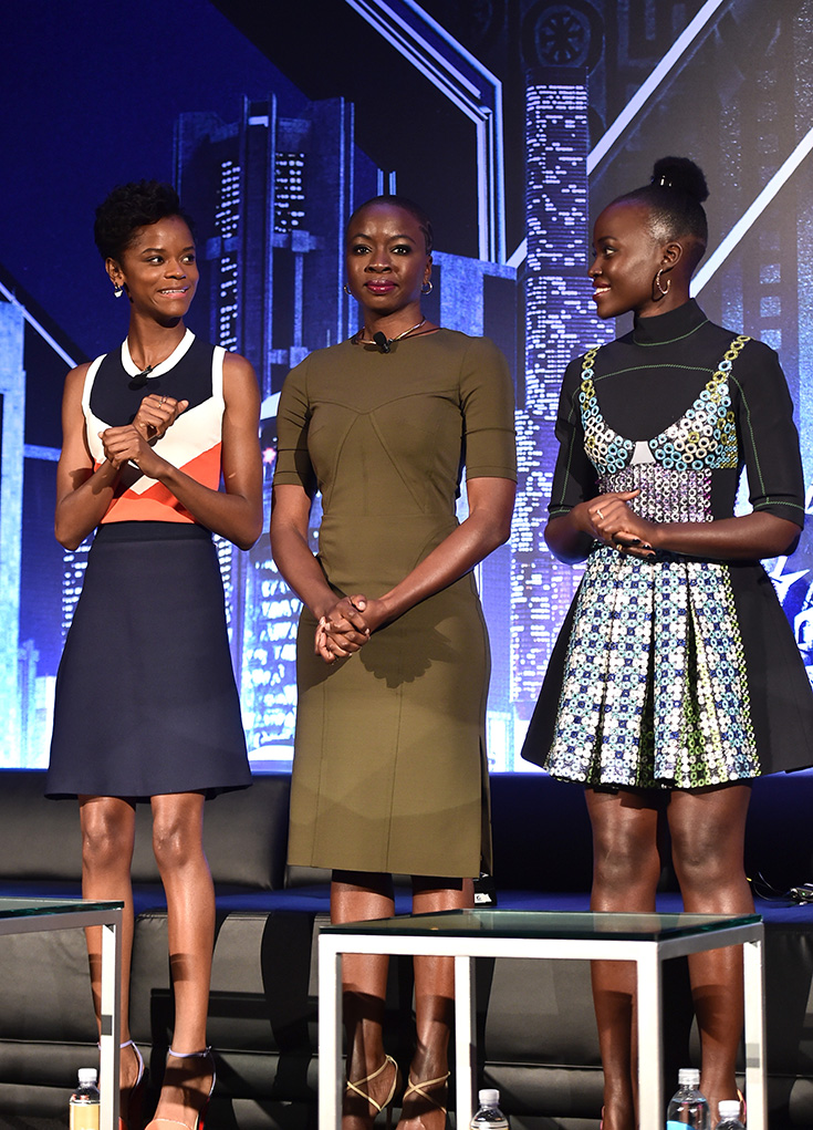 A Few Of The Women Of Black Panther