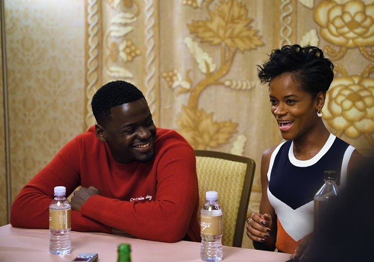 Black Panther Exclusive Interview With Daniel Kaluuya & Letitia Wright