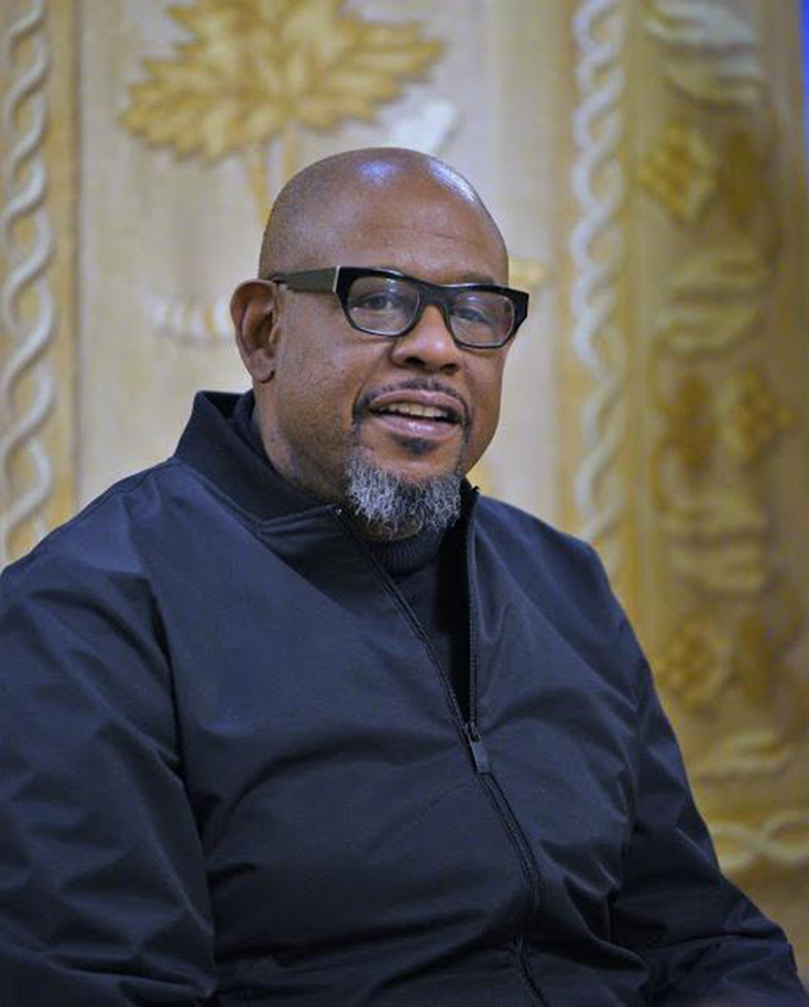 Black Panther Exclusive Interview With Forest Whitaker