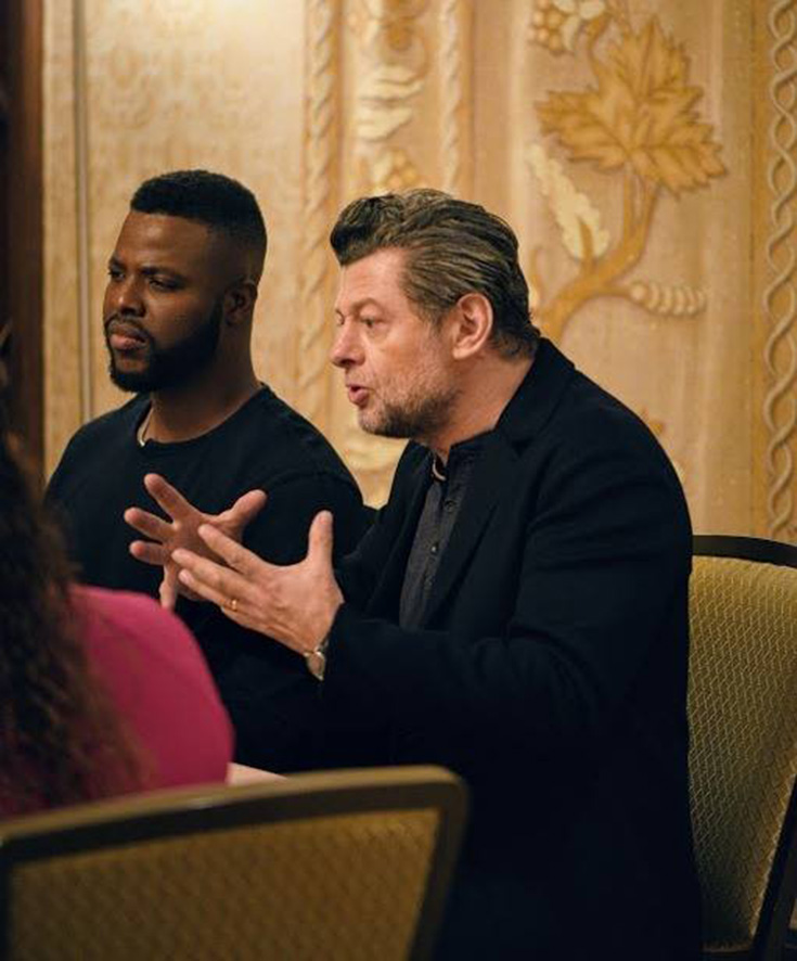 Black Panther Exclusive Interview With Andy Serkis & Winston Duke