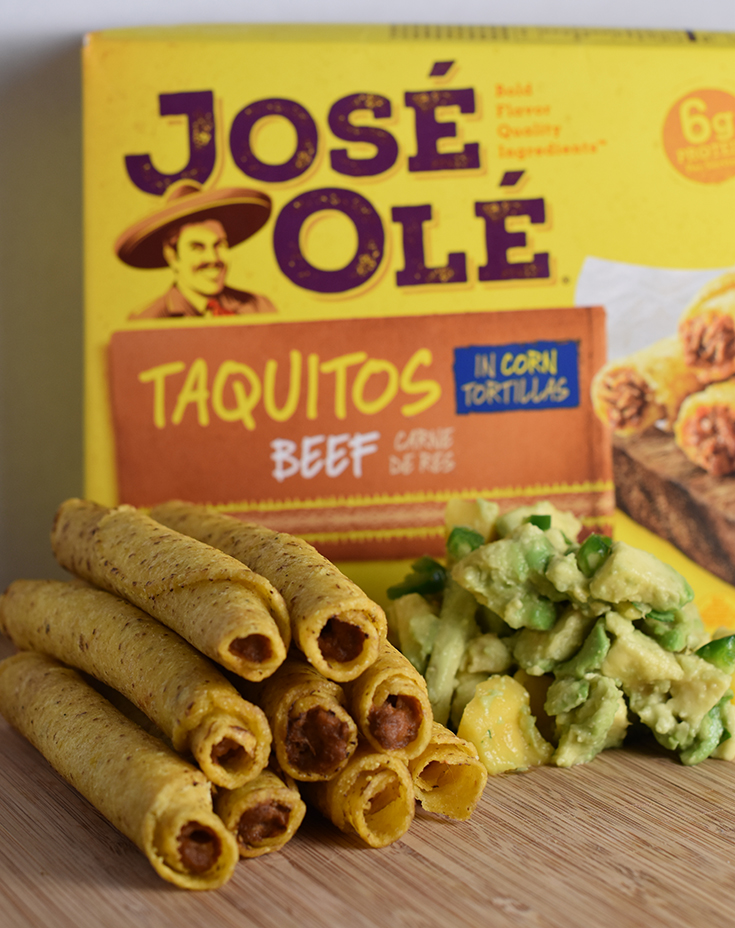José Olé Corn Taquitos With Beef