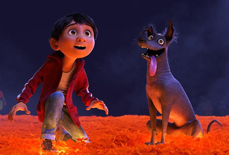 Miguel & Dante in Coco