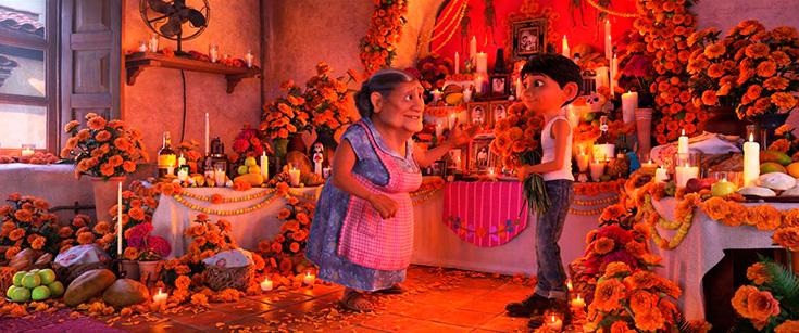Pixar Coco's Miguel & Mama Coco
