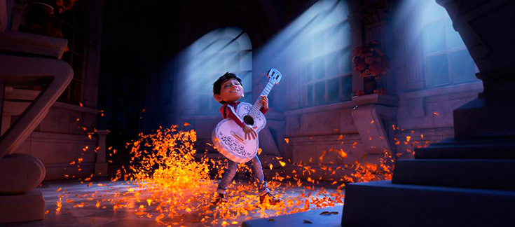 Pixar Coco Miguel