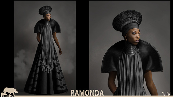 Ramonda - Black Panther Costume