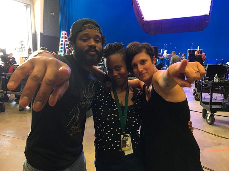 Behind the scenes black panther - Ryan Coogler & Hannah Beachler