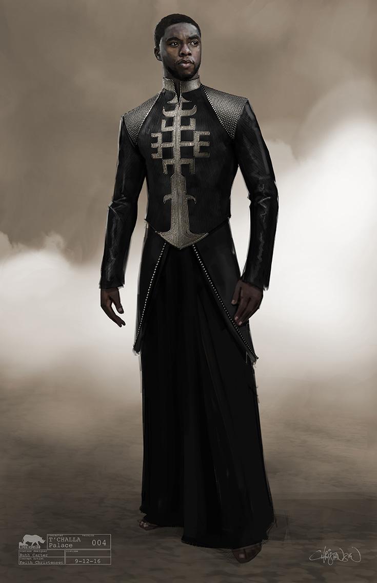 Tchalla Black Panther Costume