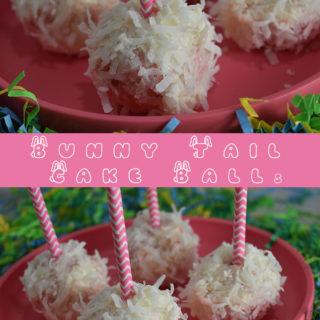 Bunny Tail Cake Balls