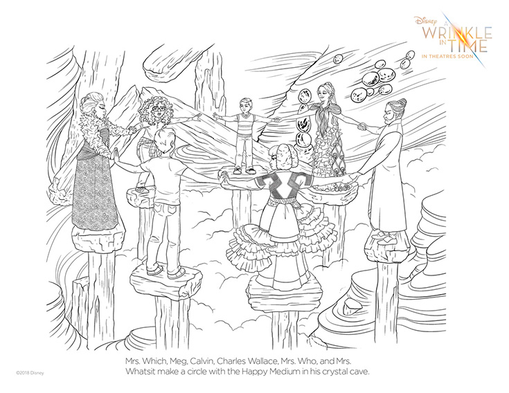 Free A Wrinkle In Time Coloring Pages #4