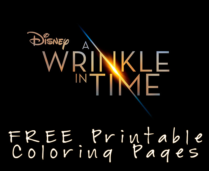 Free A Wrinkle In Time Coloring Pages