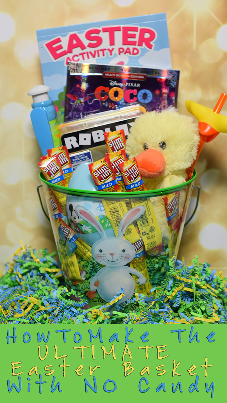 How to make the ultimate easter basket with no candy how to make the ultimate easter basket with no candy slimjimeasterbasket negle Images