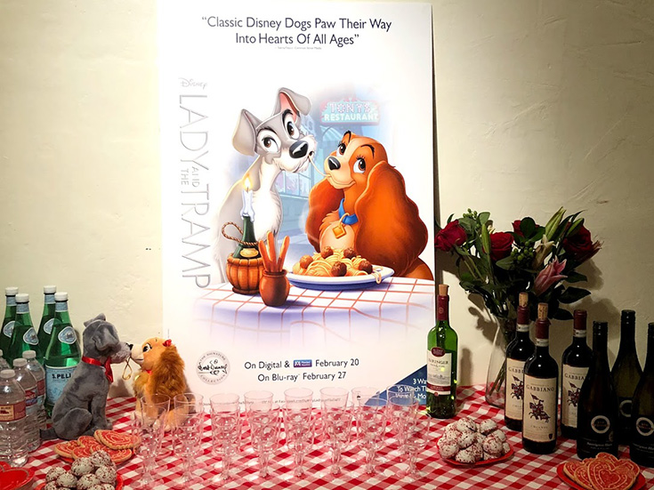 Lady And The Tramp - Paint & Sip Studio LA
