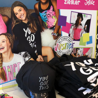 Mackenzie Ziegler's New Bold, Bright & Sparkly Line At Justice