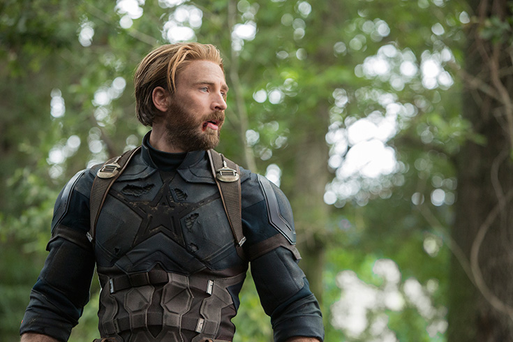 Captain America - Avengers: Infinity War