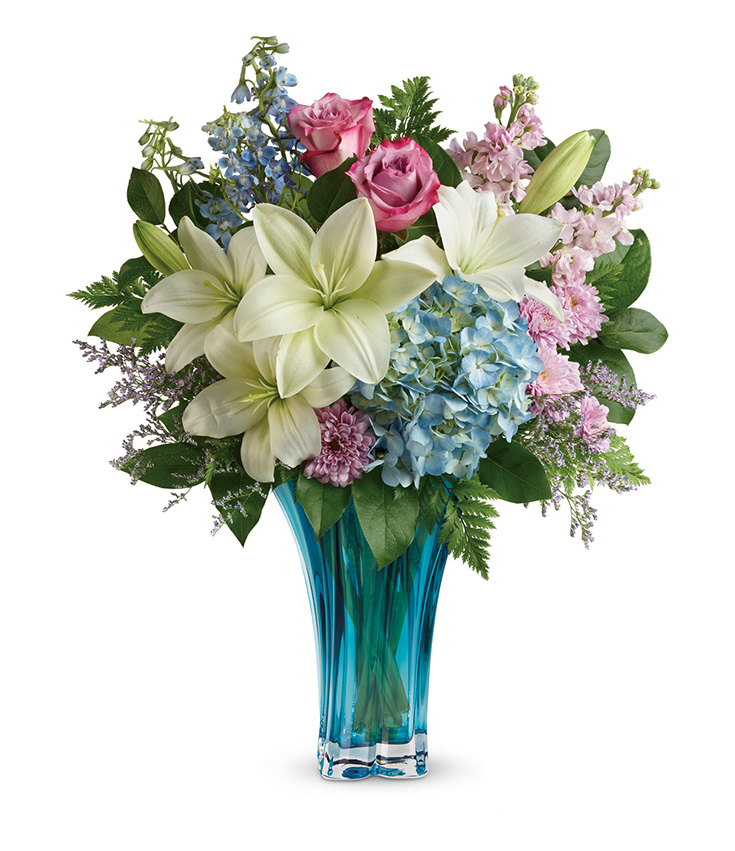 Teleflora's Hearts' Pirouette Bouquet