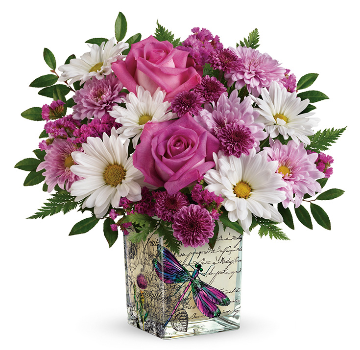Teleflora's Wildflower in Flight Bouquet