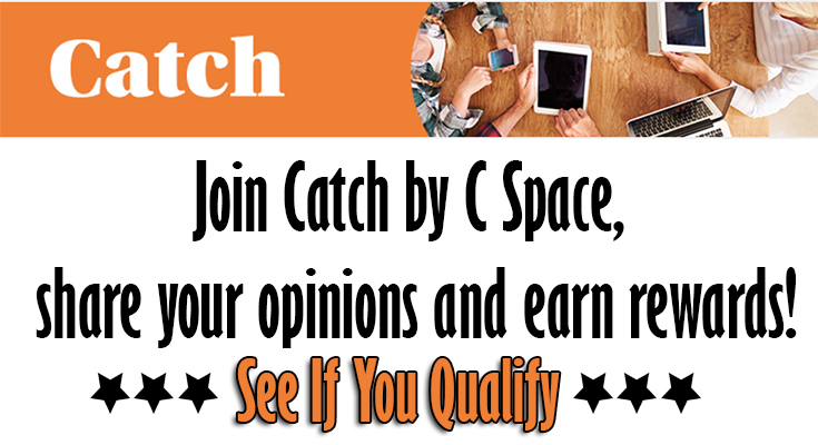 Join Catch by C Space & EARN Rewards