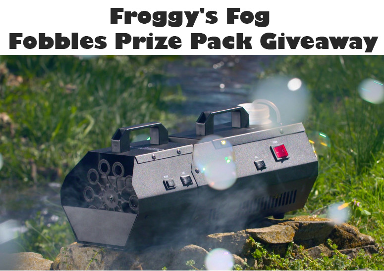 Froggy's Fog Fobbles Prize Pack Giveaway