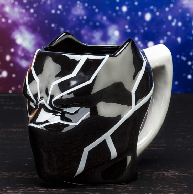 Black Panther Sculpted Coffee Mug Giveaway