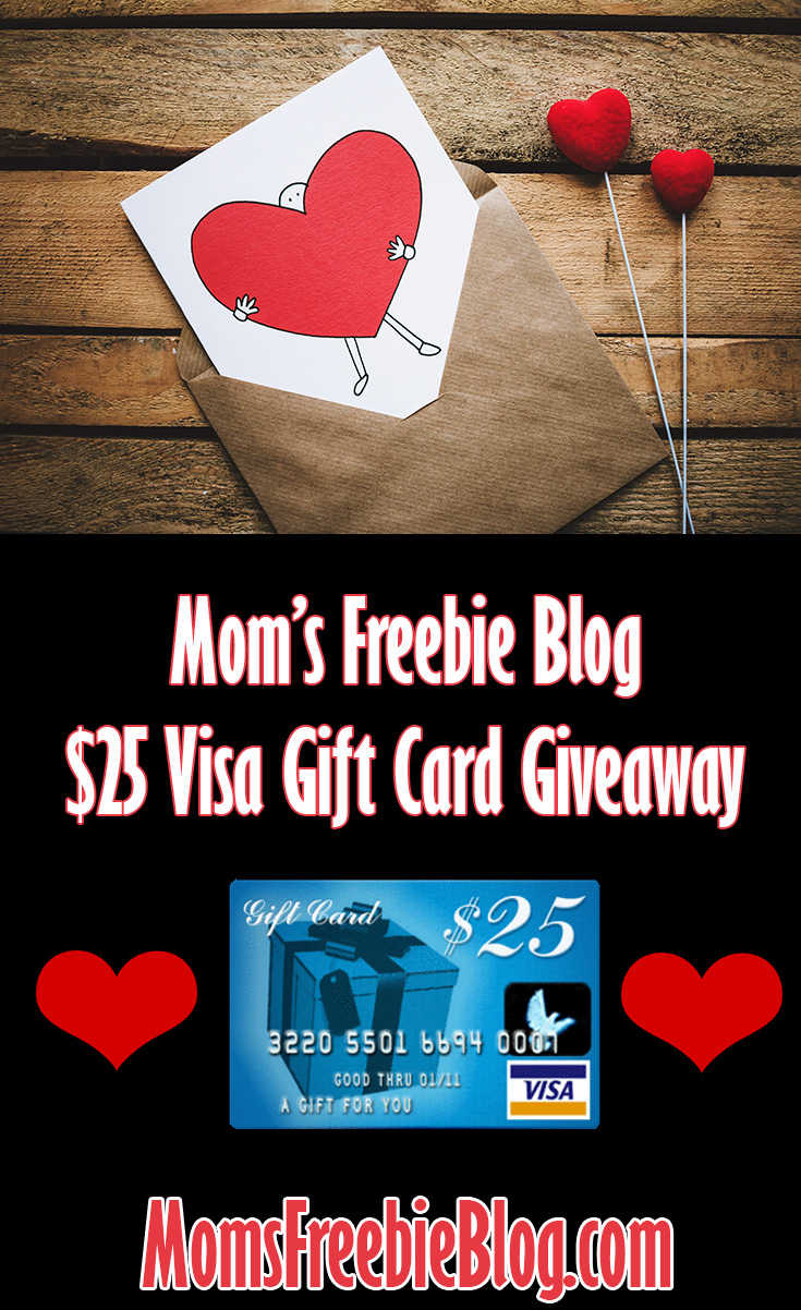 Mom's $25 Visa Gift Card Giveaway