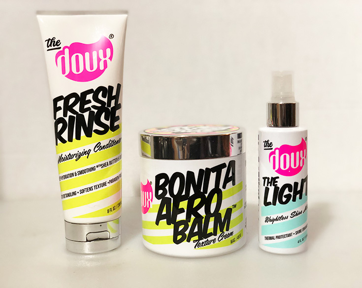 The Doux Hair Care Products + Prize Pack Giveaway